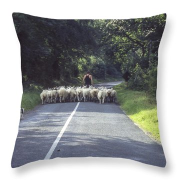 Irish Commute Throw Pillow