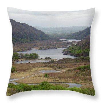 Irish Countryside 2 Throw Pillow