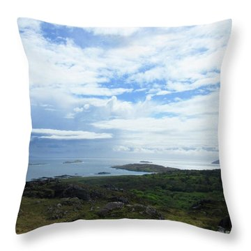 Irish Countryside 3 Throw Pillow