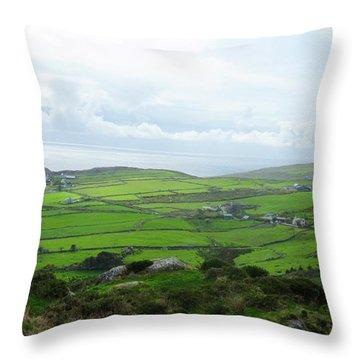 Irish Countryside 5 Throw Pillow