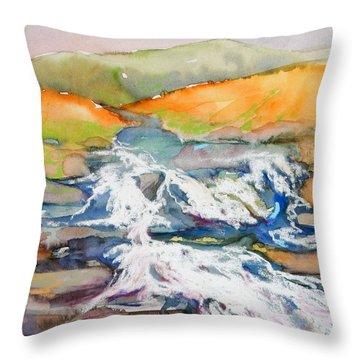 Irish Moor Throw Pillow