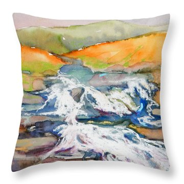 Irish Moor Throw Pillow