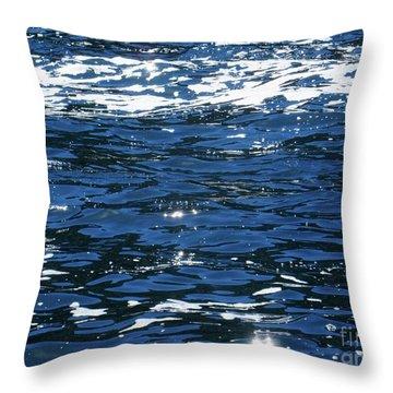 Irish Ocean Throw Pillow
