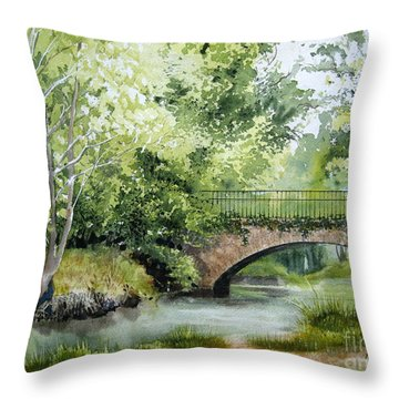Irish Overpass Throw Pillow