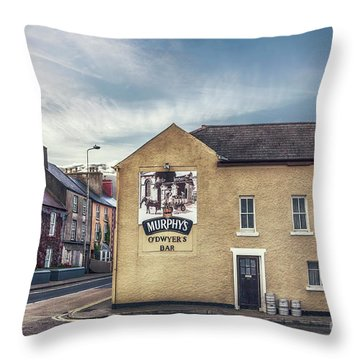 Irish Spirit Throw Pillow