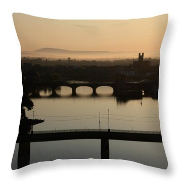 Irish Sunrise  Throw Pillow