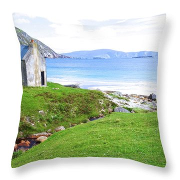 Irish Treasures.. Past And Present Throw Pillow