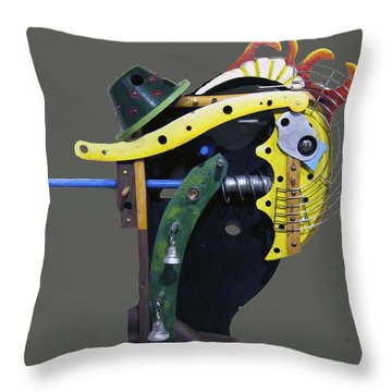Irishman Throw Pillow