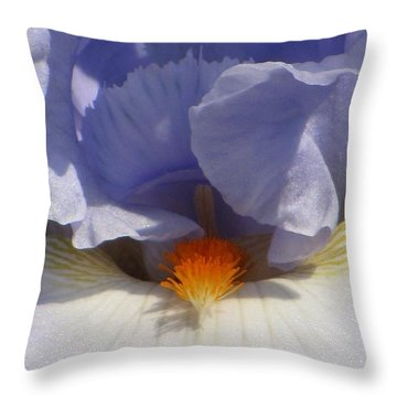 Iris's Iris Throw Pillow