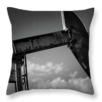 Iron Head Throw Pillow