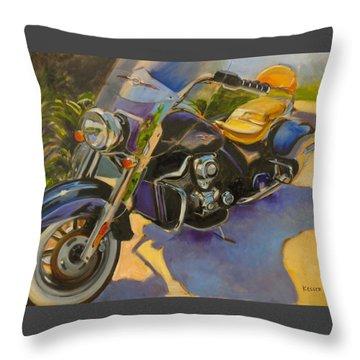 Iron Horse Throw Pillow