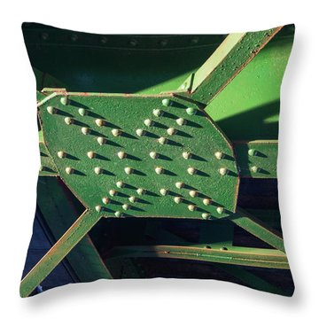 Iron Rail Bridge Throw Pillow