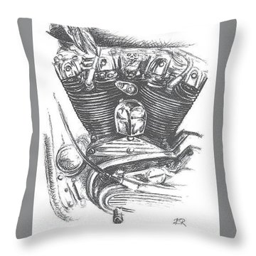 Ironhead Throw Pillow