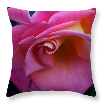 Throw Pillow featuring the photograph Irresistible by Michiale Schneider