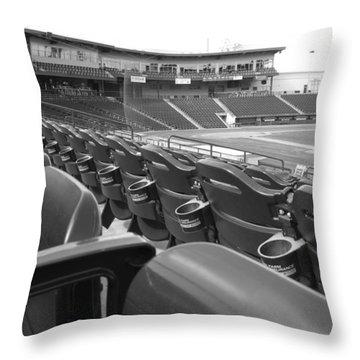 Is It Baseball Season Yet? Throw Pillow