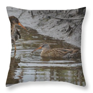 Is It Deep ? Throw Pillow by Dan Williams