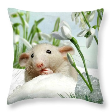 Is It Spring Yet ? Throw Pillow
