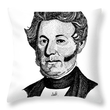 Isaac Graham Throw Pillow