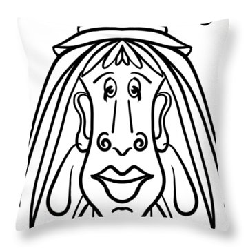Isabelle Throw Pillow