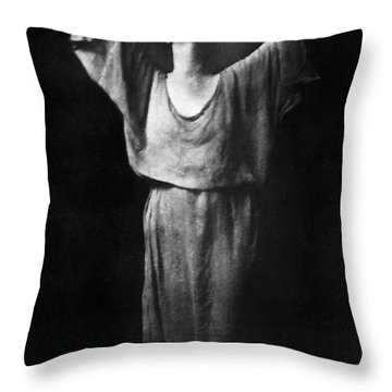 Isadora Duncan (1877-1927) Throw Pillow by Granger