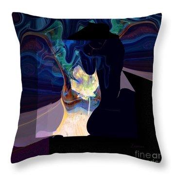 Isadora Scarf Throw Pillow