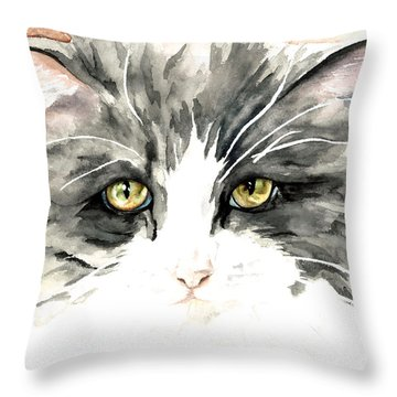Ish Da Throw Pillow by Kimberly Lavelle