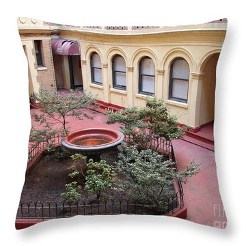 Isham Gardens Throw Pillow