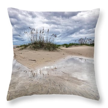 Private Island Throw Pillow