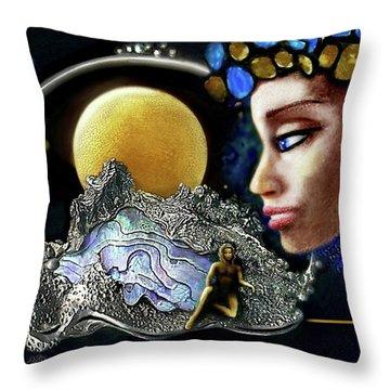 Island Dream Throw Pillow