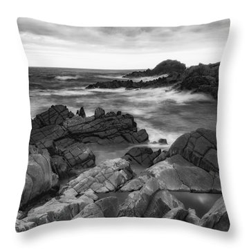 Throw Pillow featuring the photograph Island by Hayato Matsumoto