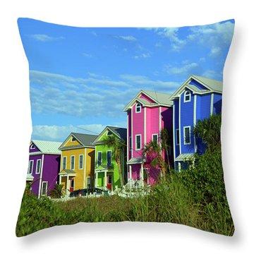 Island Ladies Throw Pillow
