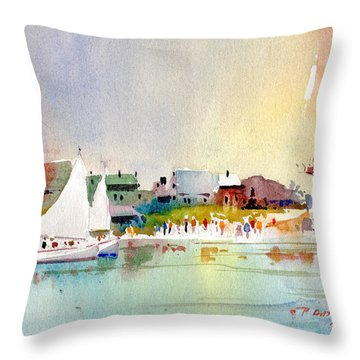 Island Light Throw Pillow