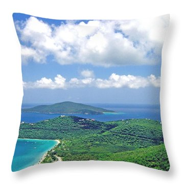 Island Paradise Throw Pillow