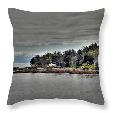 Island Summer Throw Pillow