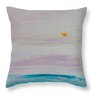 Islands In Summer Throw Pillow by Fred Wilson