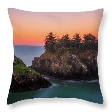 Throw Pillow featuring the photograph Islands In The Sea by Darren White
