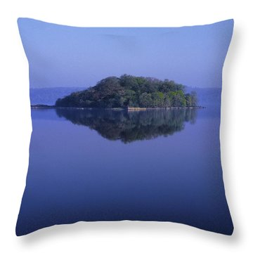 Isle Of Innisfree, Lough Gill, Co Throw Pillow by The Irish Image Collection