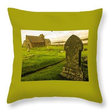 Isle Of Iona Throw Pillow