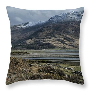 Isle Of Mull Throw Pillow