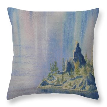 Isle Of Reflection Throw Pillow