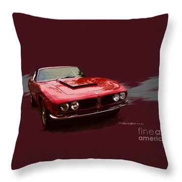 Iso Grifo Throw Pillow