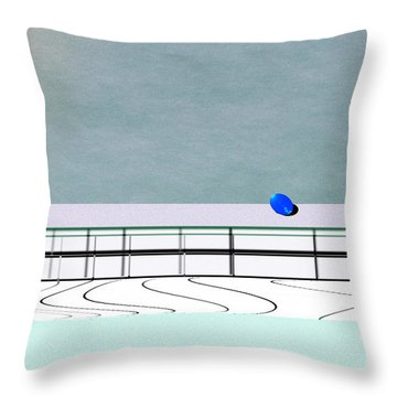 Isolation 2 Throw Pillow