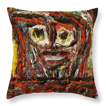 Isolation   Throw Pillow