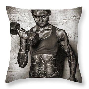 Isometrics  Throw Pillow