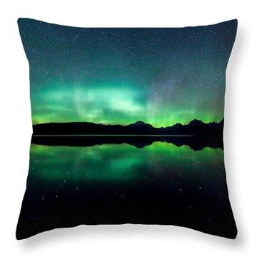 Iss Aurora Throw Pillow