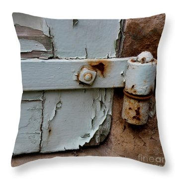 It All Hinges On Throw Pillow