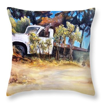 It Bore The Load Throw Pillow