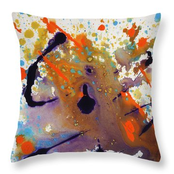 It Came From The Deep Throw Pillow