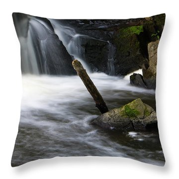 It Looks Like A Lever... Throw Pillow by Jeff Severson
