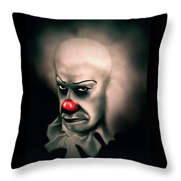 It Throw Pillow by Fred Larucci